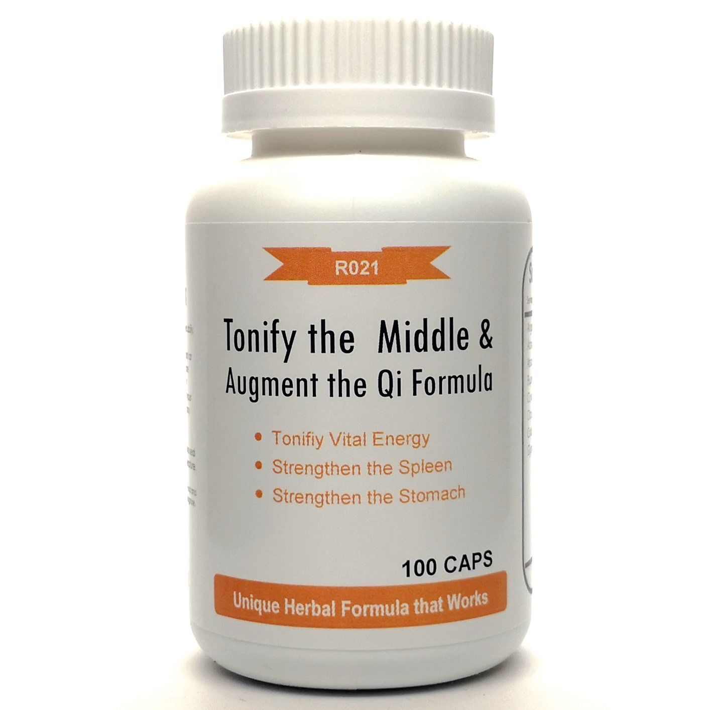 Tonify The Middle And Augment The Qi Formula 500mg 100
