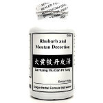 Rhubarb and Moutan Decoction Extract Powder Instant Herbal Tea 180g  (Da Huang Mu Dan Pi Tang)