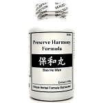 Preserve Harmony Formula  Extract Powder Instant Herbal Tea 180g  (Bao He Wan)