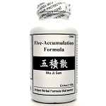 Five-Accumulation Formula Extract Powder Instant Herbal Tea 180g  (Wu Ji San)