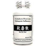 Formula to Overcome Pathogenic Influences Extract Powder Instant Herbal Tea 180g  (Bai Du San)