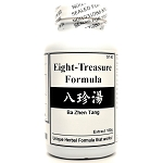 Eight-Treasure Formula Extract Powder Instant Herbal Tea 180g  (Ba Zhen Tang)