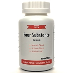 Four Substance Formula 500mg 100 capsules (Si Wu Tang)