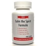 Calm the Spirit Formula 500mg 100 capsules (An Shin Wan)