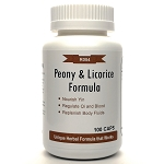 Peony and Licorice Formula 500mg 100 capsules (Shao Yao Gan Cao Tang)