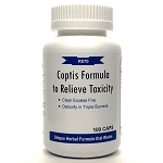Coptis Formula to Relieve Toxicity 500mg 100 capsules (Huang Lian Jie Du Tang)