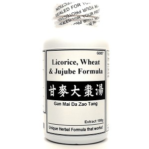 Licorice, Wheat and Jujube Formula Extract Powder Tea 180g  (Gan Mai Da Zao Tang)
