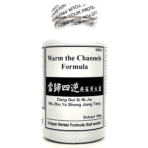 Warm the Channels Formula Extract Powder 180g  (Dang Gui Si Ni Jia Wu Zhu Yu Sheng Jiang Tang)