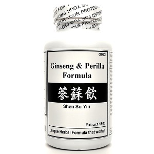 Ginseng and Perilla Formula Extract Powder Instant Herbal Tea 180g  (Shen Su Yin)