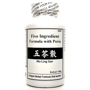Five Ingredient Formula with Poria Extract Powder 180g  (Wu Ling San)