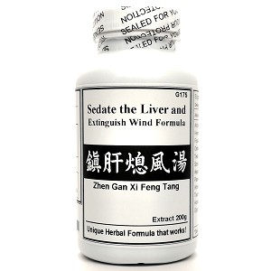 Sedate the Liver and Extinguish Wind Formula Extract Powder Instant Herbal Tea 180g  (Zhen Gan Xi Feng Tang)