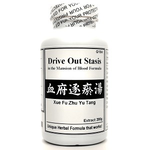Drive Out Stasis in the Mansion of Blood Formula Extract Powder Instant Herbal Tea 180g  (Xue Fu Zhu Yu Tang)