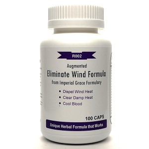 Augmented Eliminate Wind Formula  from Imperial Grace Formulary 500mg 100 capsules (Jia Wei Xiao Feng San)