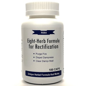 Eight-Herb Formula for Rectification 500mg 100 capsules (Ba Zheng San)